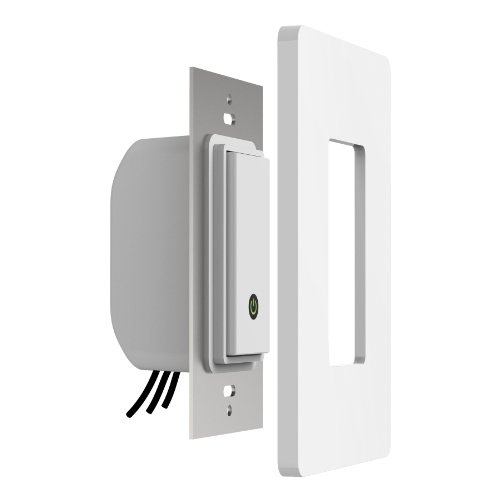 Belkin WeMo Light Switch, Control Your Lights From Anywhere with the Home Automation App for Smartphones and Tablets, Wi-Fi Enabled