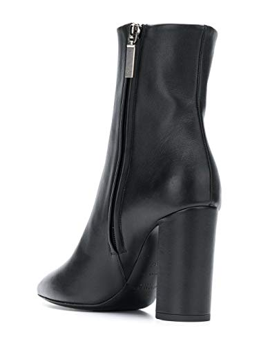 Cuir 5274180RRVV1000 Noir Bottines Laurent Saint Femme YxPIWa