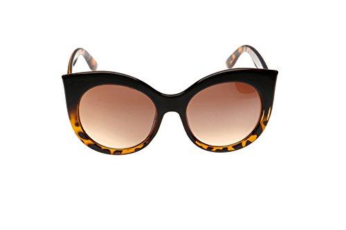 Vintage de Verres Dégradés Eye Soleil Marron Lunettes Cat qF4PCw6Iwx