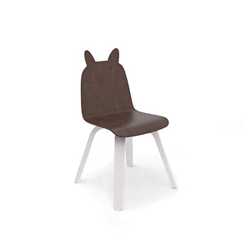 Oeuf Rabbit Play Chairs and Table Set in Walnut by Oeuf Nursery Cribs and Furniture (Image #4)