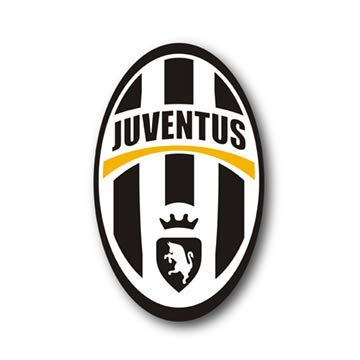 IDF Juventus Futbol Soccer Stickers for Water Bottles [2 Pack Premium Matte Vinyl] (Juventus Car Accessories)