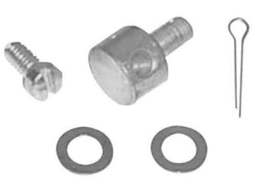 Colony Carburetor Throttle Lever Wire Block for Linkert and Bendix Carburetors - Oversized (+.005) 2664-5