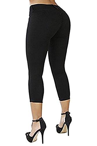 Jeans Ybenlover Ybenlover Jeans Femme Noir Femme qt614nwx