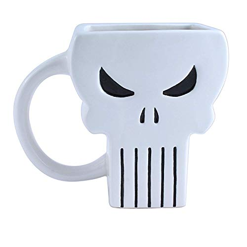 Marvel 3D Mug Hulk, Deadpool, Punisher and Thor 4 Piece Set