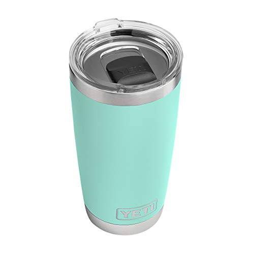 YETI Rambler 20 oz Stainless Steel Vacuum Insulated Tumbler w/MagSlider Lid, Seafoam from YETI