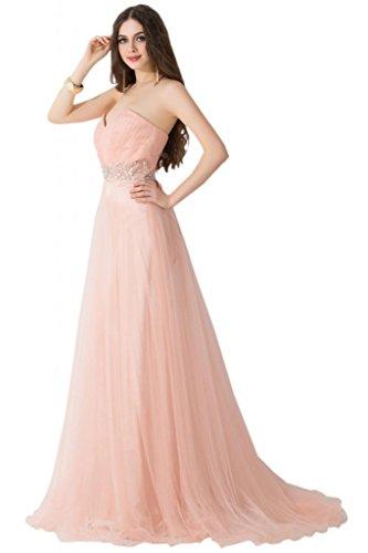 sunvary elegante Paillette vaina Trailing Pageant vestidos de noche vestidos de Rosso