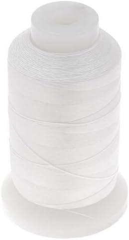 1 Spool Beadsmith 100/% Silk Beading Cord Size 0 600 Yards White