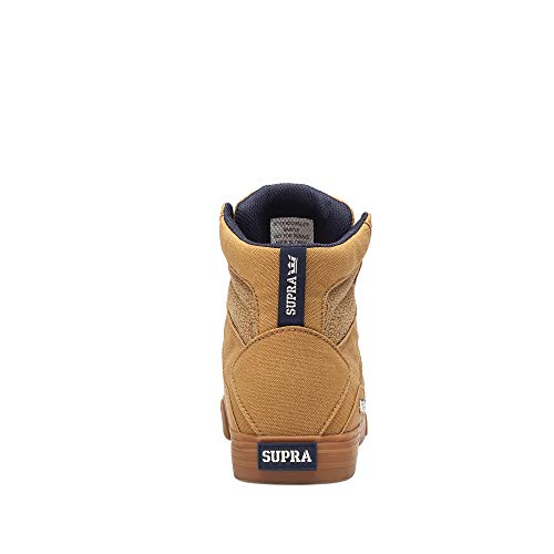 Supra Men's Aluminum Shoes,6.5,Tan-Gum ()