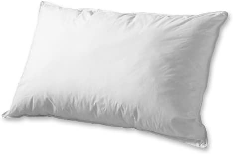 Elegant Comfort 1200 Thread Count 100 Cotton- Super Soft Luxurious Solid Feather Goose Down Set of 2 Pillows- King California King