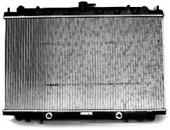 TYC 1752 Nissan Maxima 1-Row Plastic Aluminum Replacement Radiator ()