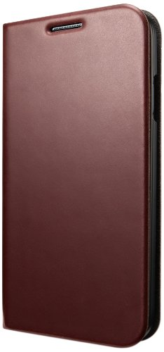 Spigen Slim Wallet S Flip Leather Galaxy S4 Cover for Galaxy S4 - S Dark Brown