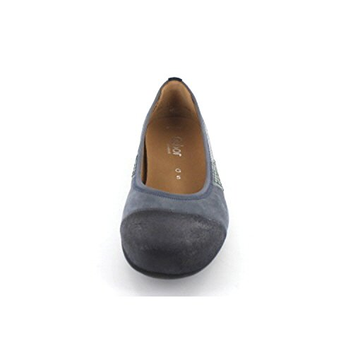 Gabor comfort 42.632.30 femmes Mocassins, bleu 35.5 EU petites taille