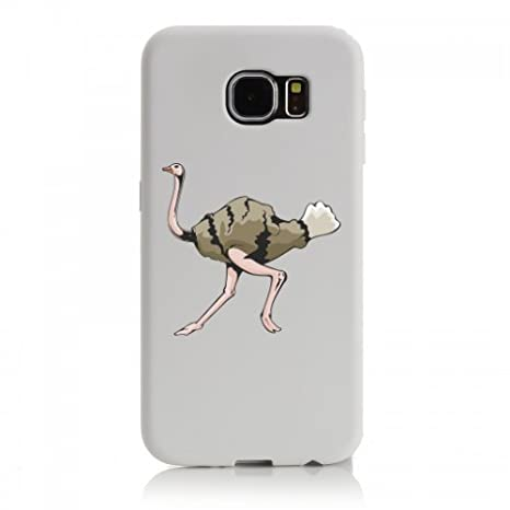 Smartphone Case Samsung Galaxy S6 Strauß Straußevogel Läuft Vogel