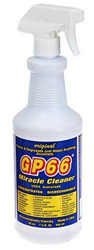 (GP66 miracle cleaner super size from GP66 (1, 32 oz.) cleans and degreases the toughest dirt, grease, and grime from just about anything anywhere in your kitchen, bath, and laundry! Made in USA)