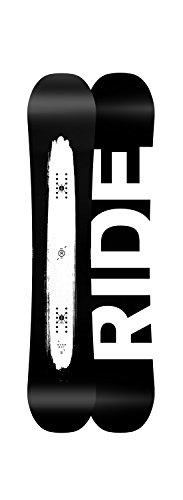 Ride Burnout Snowboard Black White 161w