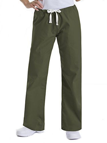 Urbane Essentials 9502 Relaxed Drawstring Pant Olive LP