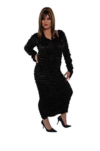 Alexanders Costumes Women's Coffin Dress -Teen, Black, One Size -