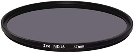 ICE 67mm ND16 フィルター ニュートラルデンシティー ND 16x 4ストップ 光学ガラス 67