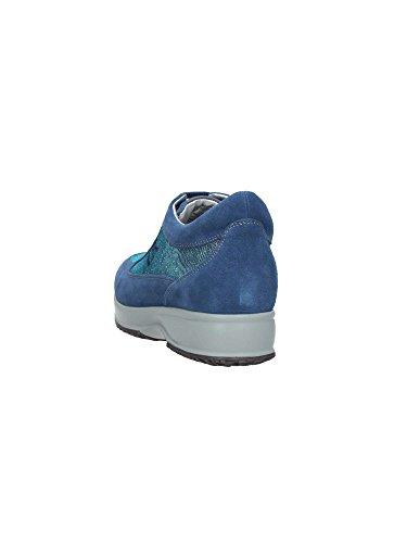 Cuero de SW1305-005 le?ador SNEAKER MainApps Azul