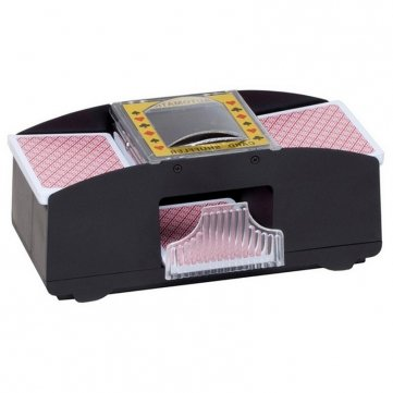 1-2 Deck Of Playing Card Poker Automatic Plastic Card Shuffler Shuffles Card Machine by - Playing Soldiers Cards