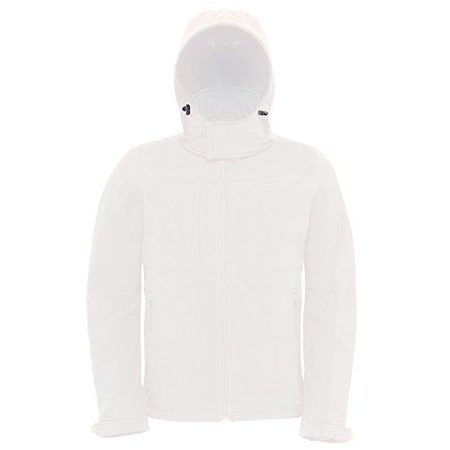 Jacket B White Softshell Hooded Collection amp;c tq7rxqXI