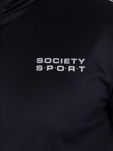 Uomo Blu Società Giacca Sportiva Da Nastro Sportiva Noi xqBP0II
