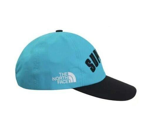 SupremeNewYork Supreme TNF Arc Logo 6-Panel Cap Hat Teal SS19 100% Authentic Real Rare Designer