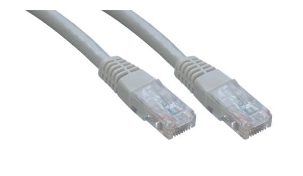 MCL 10m CAT 5e U//UTP Patch Cable Black