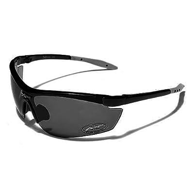 X-Loop Lunettes de Soleil - Sport - Cyclisme - Ski - Conduite - Moto   Mod.  3550 Noir   Taille Unique Adulte   Protection 100% UV400 8cadadcfa647