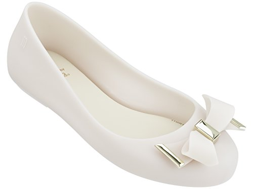 Mini Melissa Girls' Mel Space Love, White/Milk, 3 Regular US Little Kid by Mini Melissa