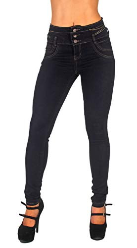 Colombian Design, High Waist, Butt Lift, Levanta Cola, Skinny Jeans in Black Size 9