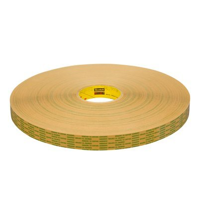 3M (465XL) Adhesive Transfer Tape Extended Liner 465XL Translucent, 3/4 in x 60 yd 2.0 mil
