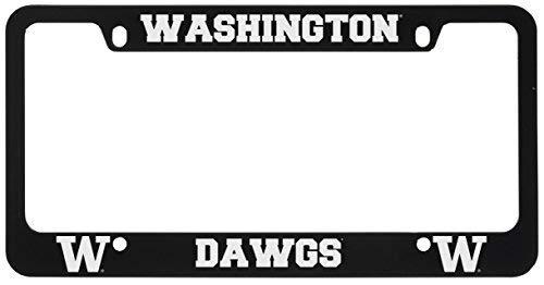 - University of Washington-Metal License Plate Frame-Black
