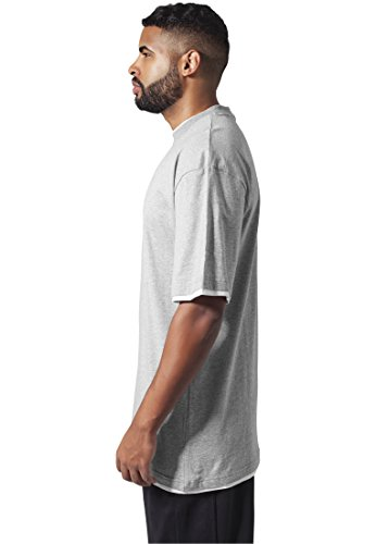 Urban T Classics wht Homme Coque shirt Gry rHrqwS