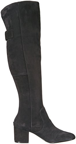 Nine West Women's Queddy Suede Over the Knee Boot, Black, 7 Medium US by Nine West (Image #7)