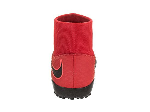 Nike Mens Hypervenomx Phelon 3 Df Tf Torv Fotboll Sko Universitet Röd / Svart