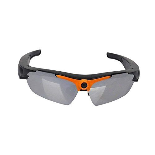 PowMax WW-81 Sunglasses Camera,Real Full HD 1080P with Wide Angle Mini Camera Video for Outdoor Sports