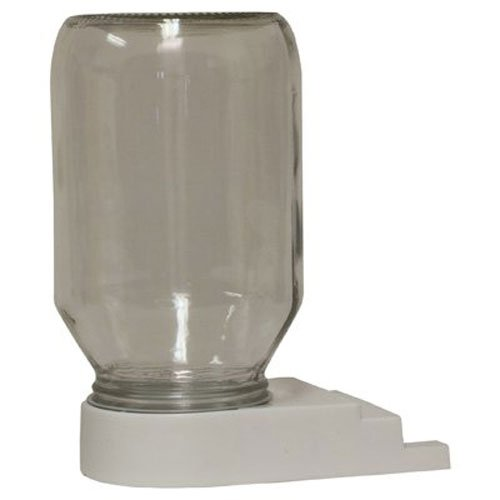 Honey Lane - Harvest Lane Honey FEEDBBG-102 Entrance Bee Feeder/Jar, 1 Count