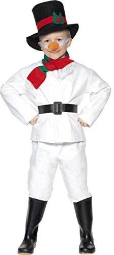[Snowman Costume Medium] (Carrot Costume Uk)