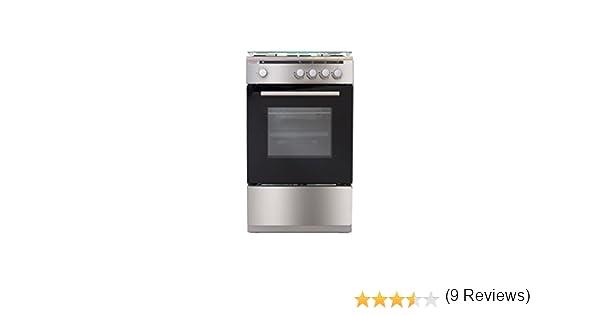 Conjunto de cocina TELEFUNKEN 14TLK5040GX 85 x 50 x 50 cm gas 4 fuegos inox: Amazon.es: Electrónica
