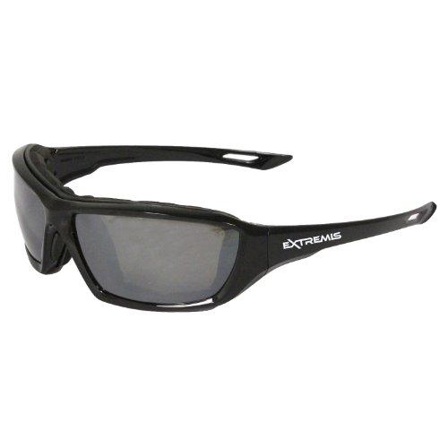Radians XT1-61 Extremis Full Black Frame Safety Glasses with