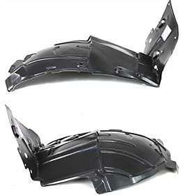 Splash Shield Front Right Side Fender Liner Plastic Front Section Coupe for G35 03-07 Coupe