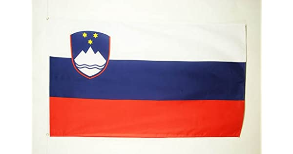Amazon.com: Eslovenia bandera 3 x 5 – Slovenian Banderas ...