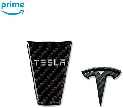 LMZX Car Door Sills Protection Kit Carbon Fiber Stickers Compatible Model X