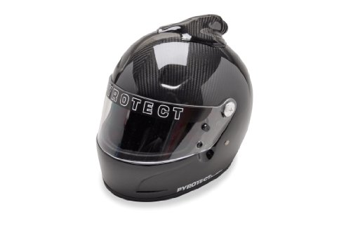 HUNSAKER USA Pyrotect: Pro Airflow Full Face Carbon Fiber Top Forced Air Helmet