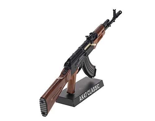 Ghost Modèle réduit d'arme factice-Maquette décorative en métal avec Support de présentation-A Collectionner : kit n°3… 2
