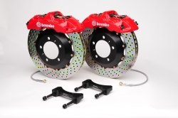 Brembo 1A4.6008A2 GT Big Brake Kit Front Drilled Volkswagen Golf (Brembo Volkswagen Golf)