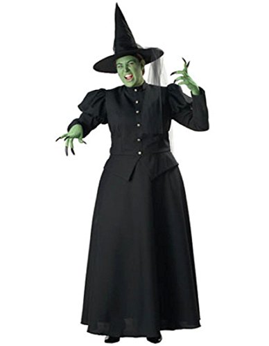 Plus Size Black Witch Costume - 3X -