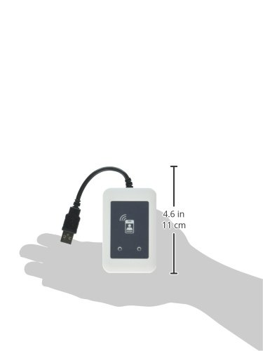 installs Inside MFPs Built in Card Reader Bay programmable RFID Card Reader Integrated Includes TWN4 Reader top Cover USB Y Cable