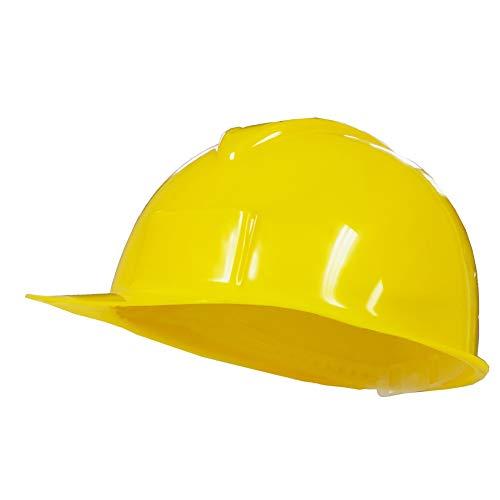 Jacobson Hat Company Yellow Plastic Hard Hat Construction Cap]()